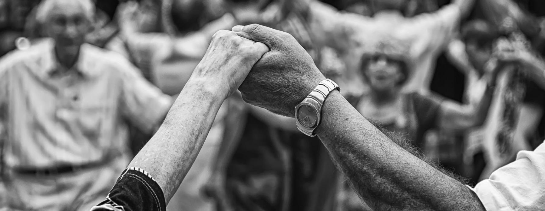 Older Adults Holding Hands